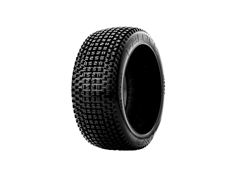 James Racing i-Block tread pattern Tyres. 1/8 Scale